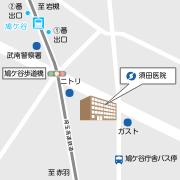地図 埼玉県川口市坂下町4-7-4