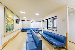 透析患者専用待合室